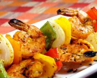 Recipe for shrimp kabobs grill