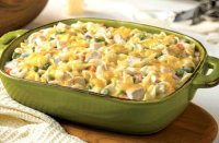 Recipe for turkey casserole with noodles