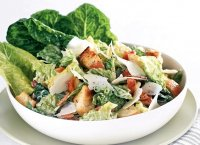 Recipe traditional caesar salad dressing