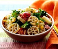 Recipe using wagon wheels pasta