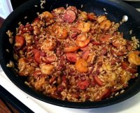 Red beans rice and andouille sausage recipe