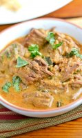 Red curry beef recipe coconut milk