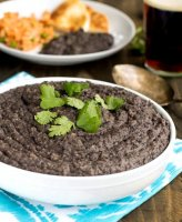 Refried black beans recipe dried apples