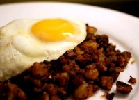 Roast beef hash recipe with bacon