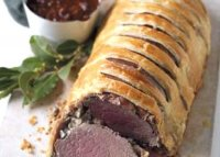 Roast beef wrapped in pastry recipe