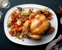 Roasted chicken recipe alton brown