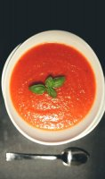 Roasted tomato bell pepper soup recipe