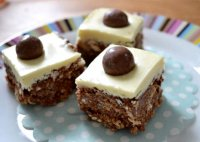 Rocky road recipe with maltesers cheesecake