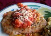 Rosemary grilled opah moon fish recipe