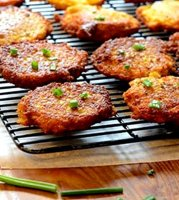 Russian potato latkes recipe with matzo