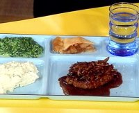 Salisbury steak easy recipe rachael ray onion