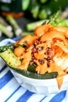 Salmon roasted red pepper recipe