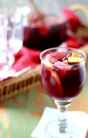 Sangria recipe with red wine and brandy