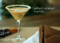 Sea salt caramel martini recipe