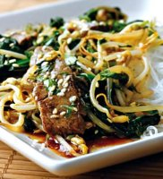Sesame beef recipe cornstarch turkey