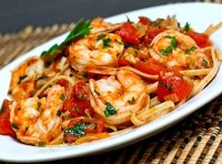Shrimp and marinara pasta recipe