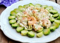 Shrimp salad sandwich recipe with mayonnaise
