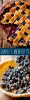 Simple apple pie recipe no top crust blueberry