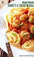 Simple ground chicken meatball recipe