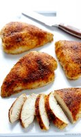 Skinless baked chicken breast recipe