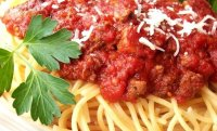 Slow cook spaghetti meat sauce recipe