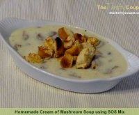 Sos recipe cream of mushroom soup