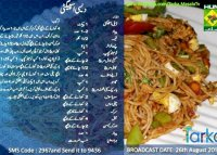 Spaghetti recipe with chicken pakistani