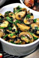 Spanish tapas garlic mushrooms recipe
