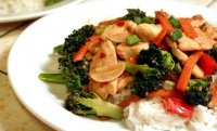 Spicy chicken and broccoli stir fry recipe
