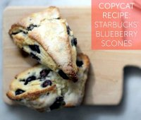 Starbucks blueberry scone recipe copycat