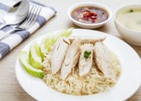 Steam cooked chicken fillets recipe