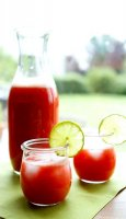 Strawberry lime agua fresca recipe limonada