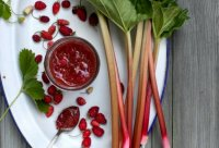 Strawberry rhubarb jam recipe honey