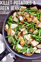 String beans and potato recipe