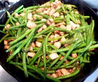 String beans recipe asian broccoli