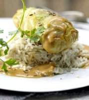 Stuffed cabbage recipe without tomato sauce
