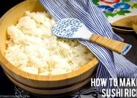 Sushi rice recipe without vinegar