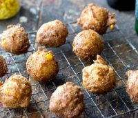 Sweet hush puppies recipe with corn