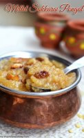 Sweet pongal recipe pressure cooker