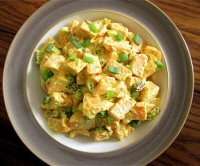 Sweet potato curry salad recipe