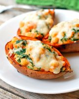 Sweet potato skins recipe healthy