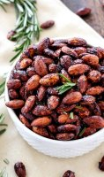 Sweet spicy roasted almonds recipe