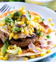 Tex mex turkey burger recipe