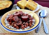 Texas beans recipe with sausage