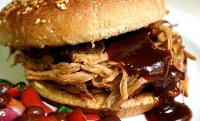 Texas style pulled pork sandwich recipe