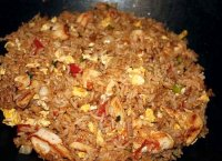 Thai fried rice tomato recipe