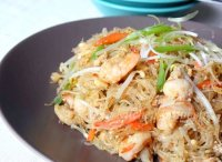 Thai stir fried glass noodle recipe