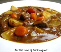Thick beef stew recipe stove top
