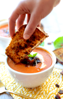 Tomato bisque soup recipe with yogurt