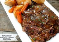 Top round roast beef recipe slow cooker